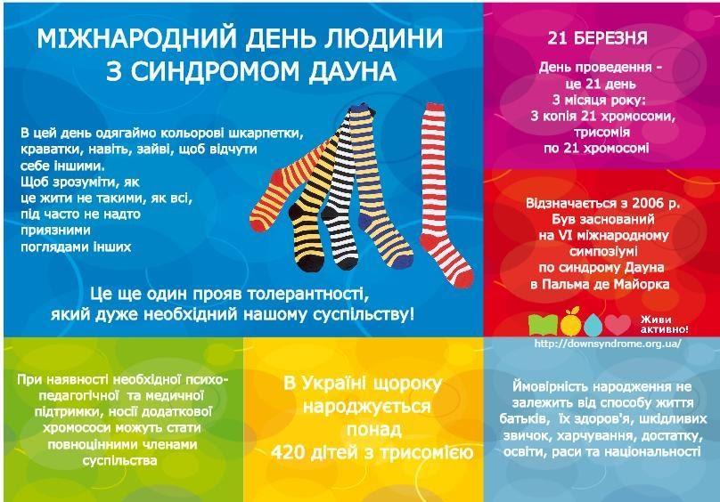 21 березня - Всесвітній День людей із синдромом Дауна.   Давидівська громада