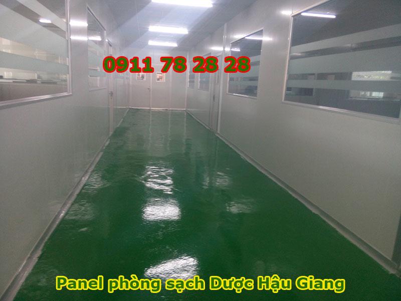 Panel Phòng Sạch Dược Phẩm Hậu Giang