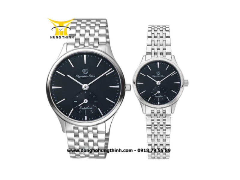Đồng hồ OP (OLYMPIA STAR) CẶP ĐÔI OPA58075MS-D VÀ OPA58075LS-D