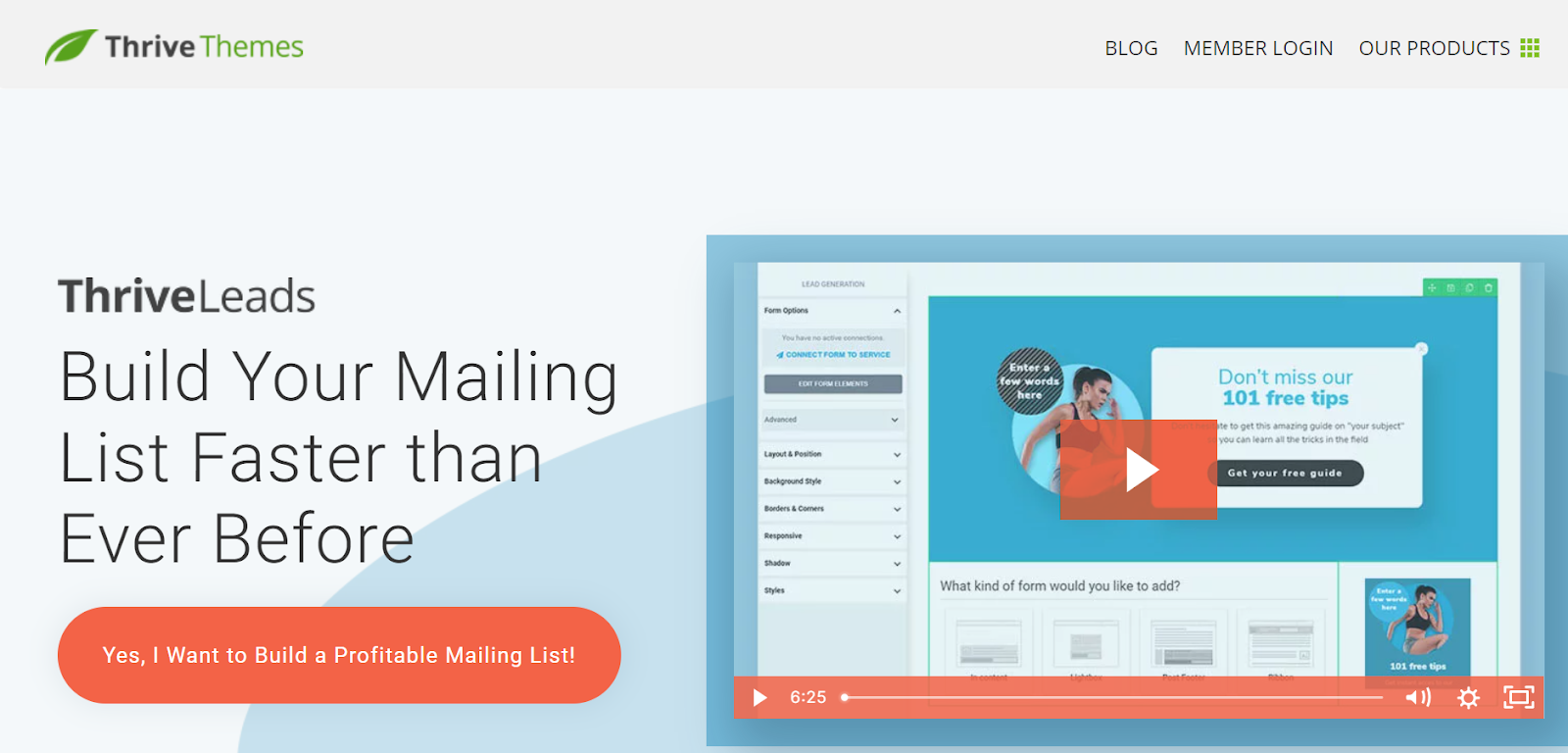 lead generation tools for building mailing lists
