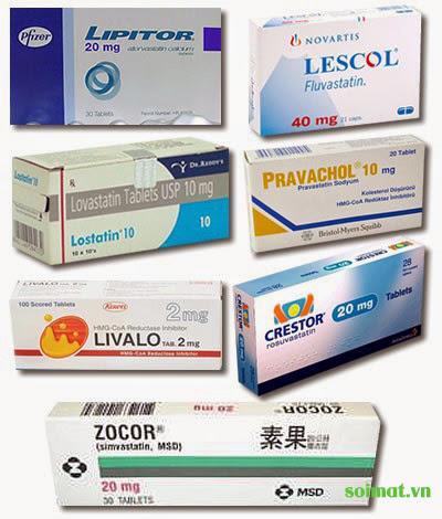 nhóm thuốc Statin giảm nguy cơ sỏi mật