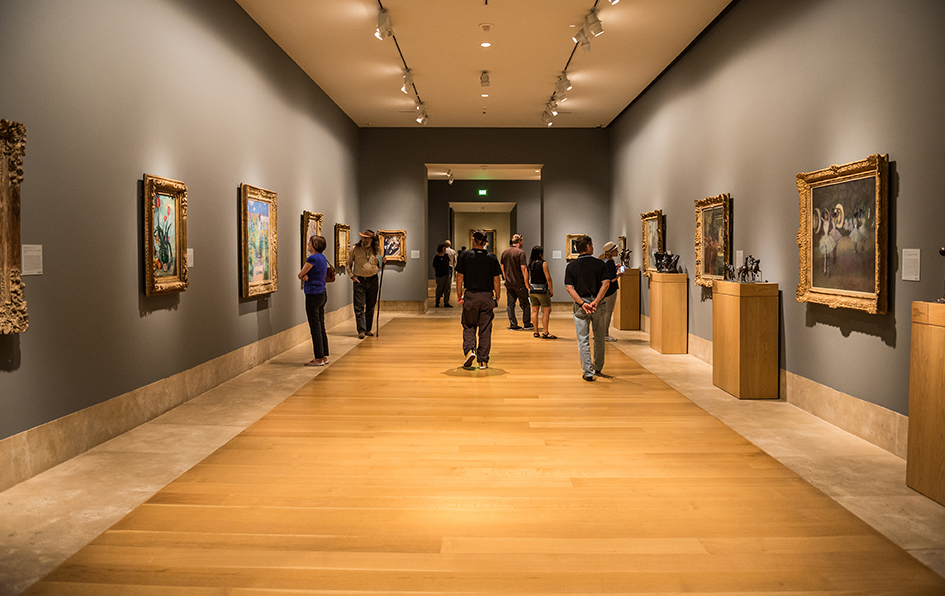Norton Simon Museum interior