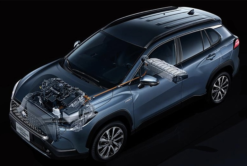 สรุปรถยนต์ : Toyota Corolla Cross Hybrid Premium Safety