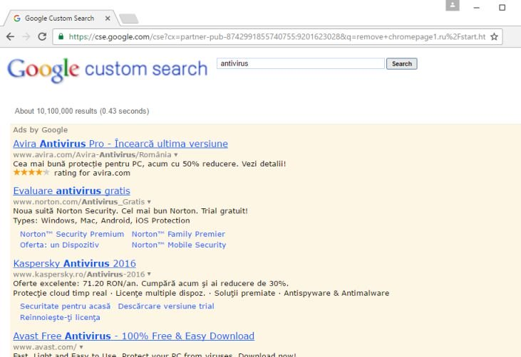 Custom Search Android