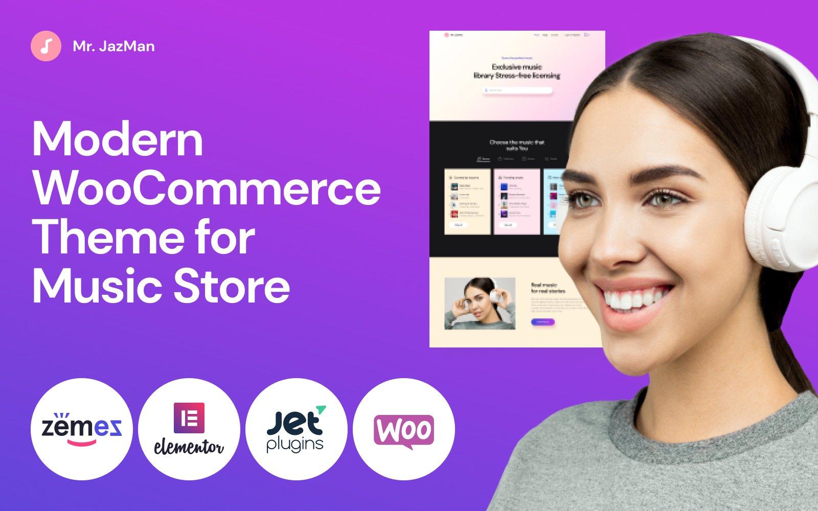 Fastest WooCommerce themes - JazMan
