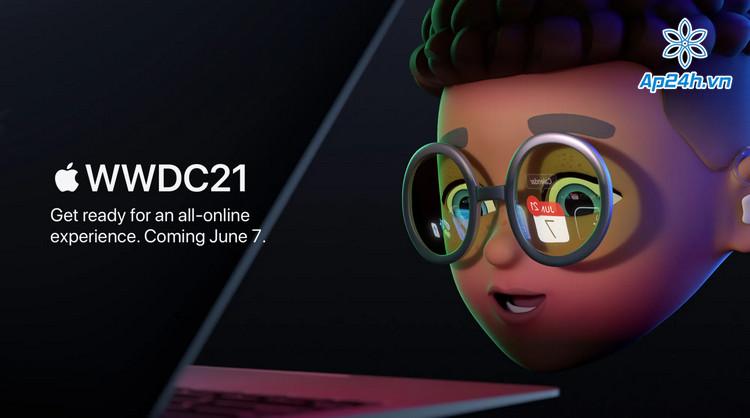 Sự kiện WWDC 2021 sẽ diễn ra online vào tháng 6