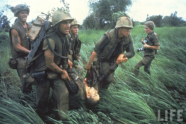 Image result for vietnam war in color