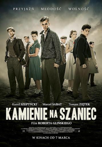 Polski plakat filmu 'Kamienie Na Szaniec'