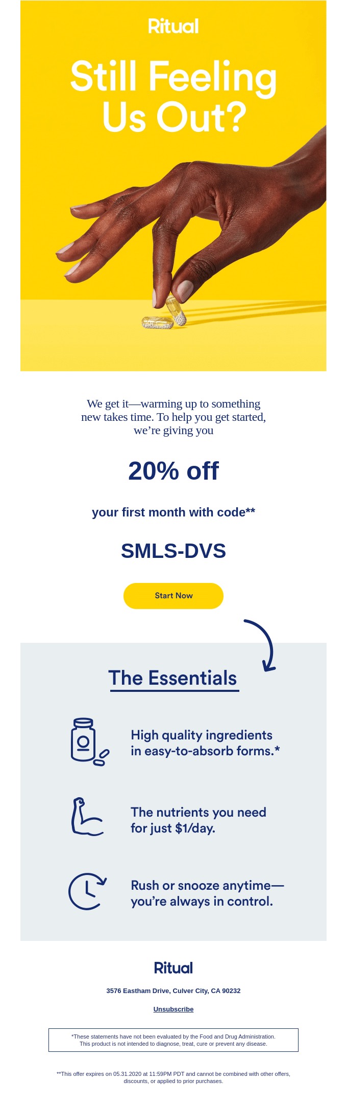 Automated promotional emails