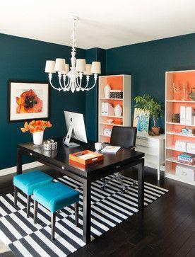 Image result for office walls vibrant colors