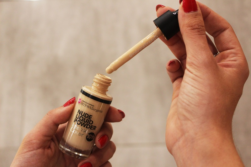 base nude liquid powder bell