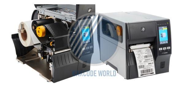 Công nghệ in nhiệt trực tiếp và gián tiếp trong máy in tem nhãn mã vạch Zebra ZT411