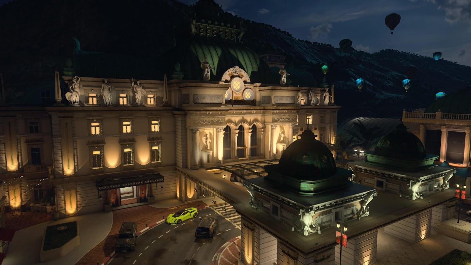 Black Ops 4 Casino Haritası