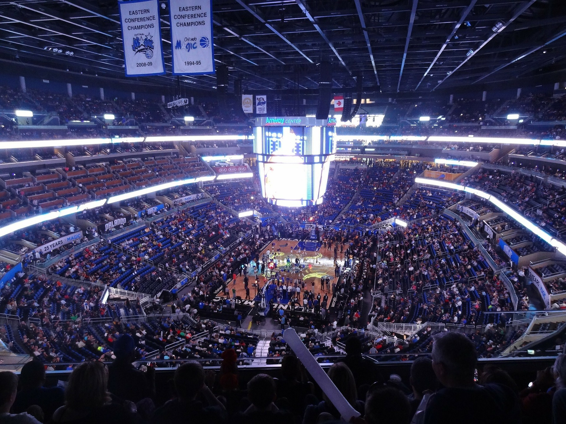 NBA Game In New York