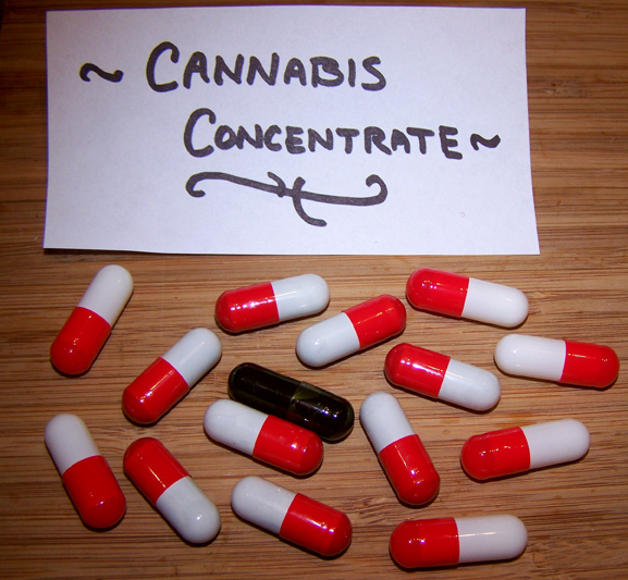 Cannabis Medicine in Capsule Form