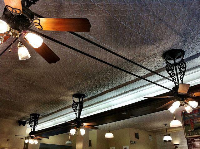 Belt-Drive Ceiling Fans | Belt driven ceiling fans, Ceiling fan, Vintage ceiling  fans