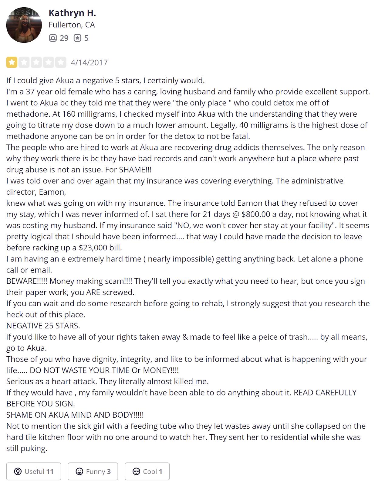 AKUA Mind & Body reviews