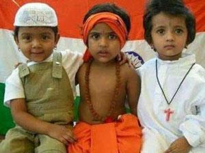 Hindu and Muslim children show unexpected religious tolerance ...