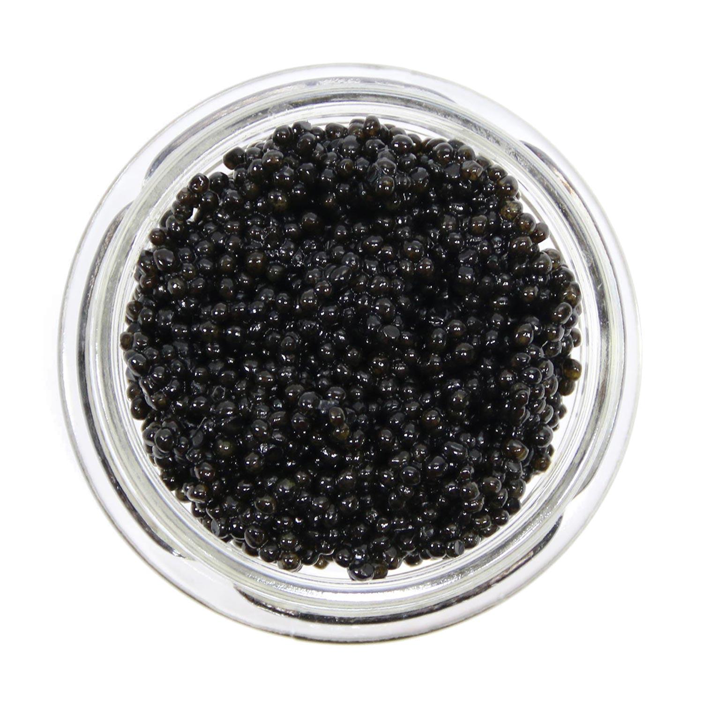 black hackleback caviar