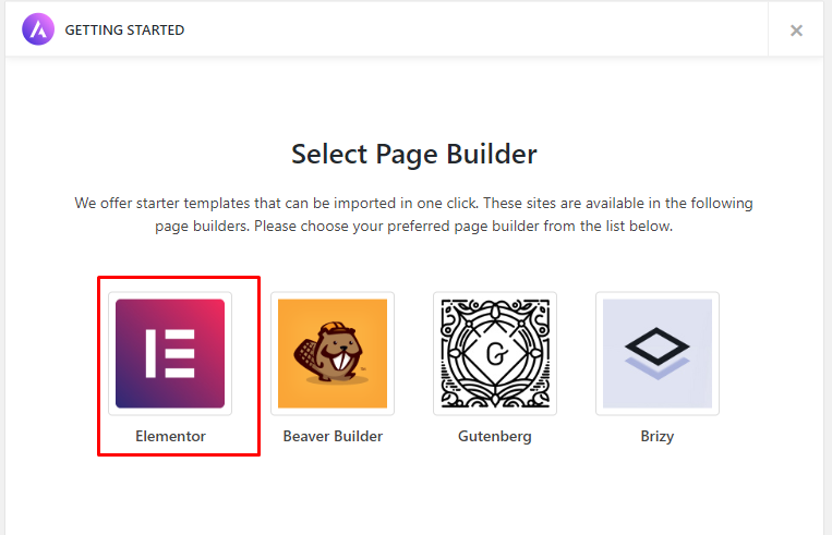 Select your page builder to start a blog in south africa