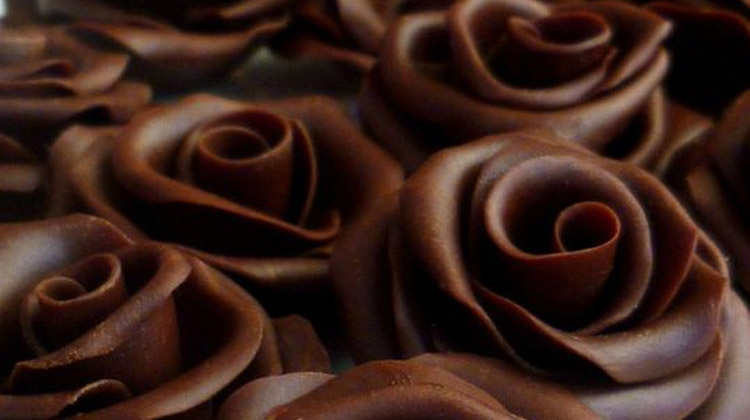 Manualidades con chocolate