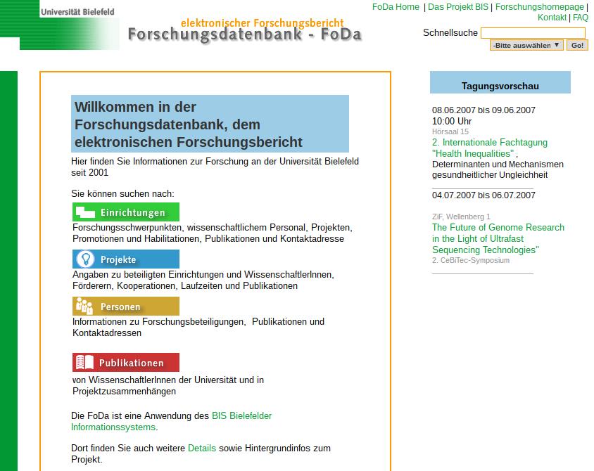 FoDa in 2007 - Startseite.png