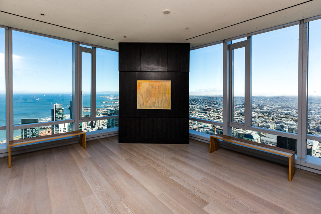 The view from Gallery 181. Photo courtesy the Villani Group.