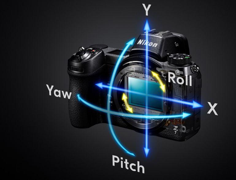 Estabilização de imagem Nikon Z7