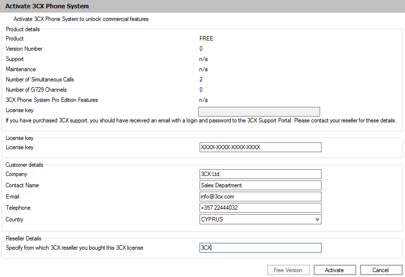 3CX Phone System - Configuration - vInfrastructure Blog