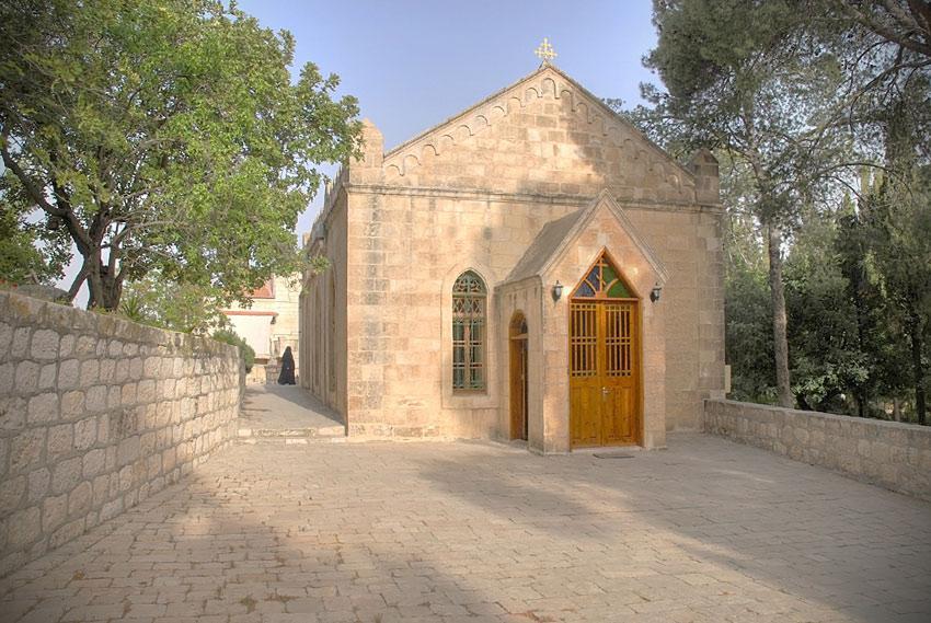 Часовня Обретения Главы Иоанна Предтечи, Иерусалим - Масличная гора