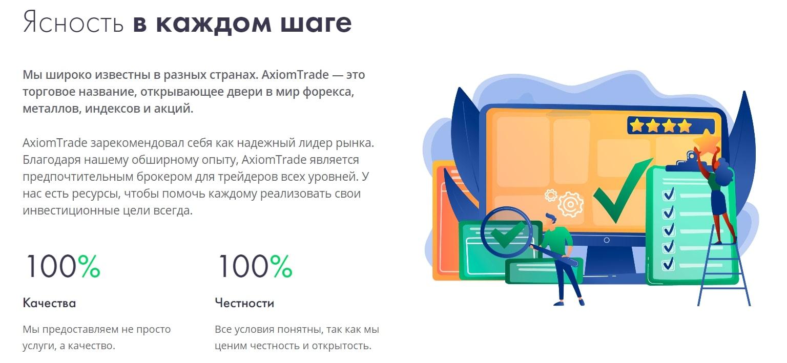 Независимый обзор AxiomTrade и отзывы о проекте реальные отзывы