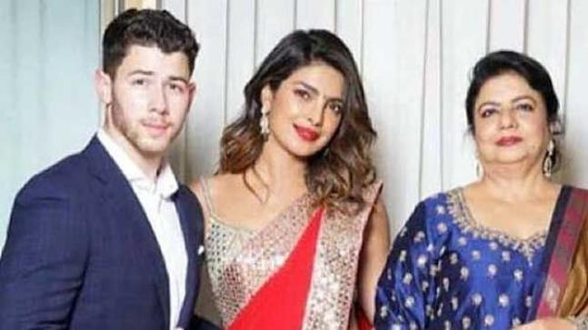 Image result for nick jonas and priyankas mother