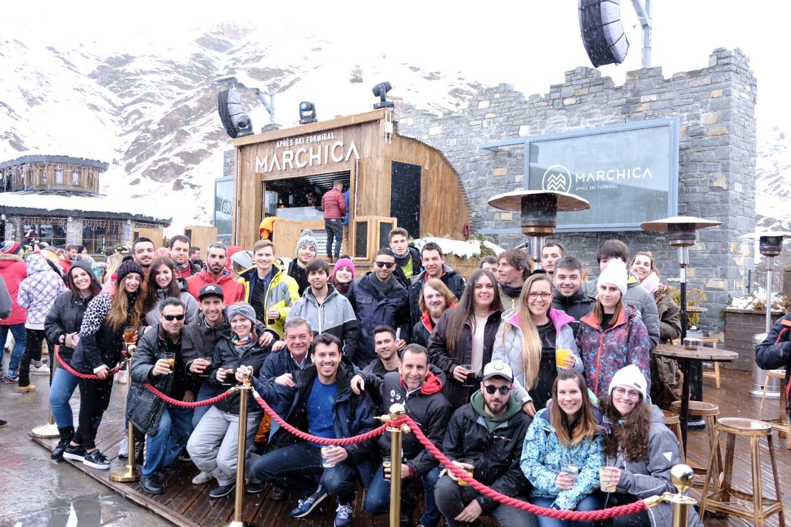 El equipo de Esquiades.com en Marchica