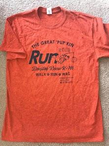 Limited quantity, short sleeve, dark heather orange w/black, Gildan shirt, 90% Cotton, 10% Poly