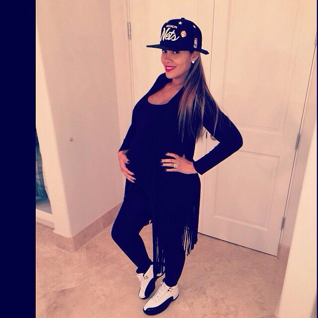 evelyn lozada in jordans
