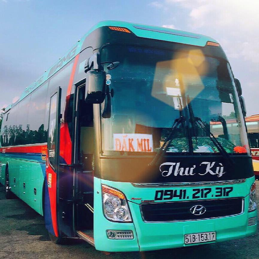 Xe Thư Kỳ từ Dak Nông đi Sài Gòn