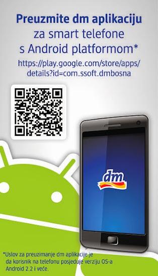 dm aplikacija za pametne telefone i tablet računare