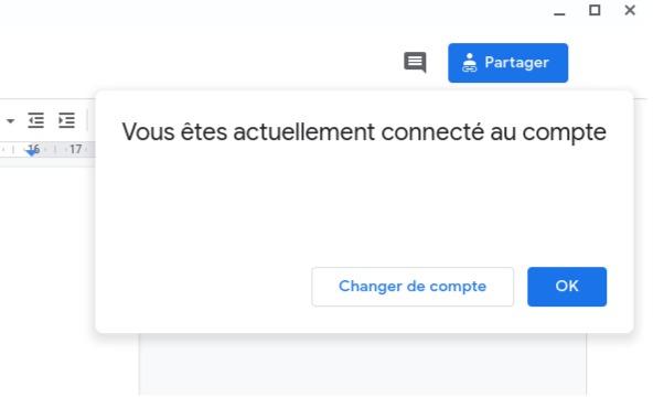Gérer des comptes Google sur une même cession