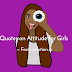 Quotes on Attitude for Girls - Captions Status Attitude Quotes.