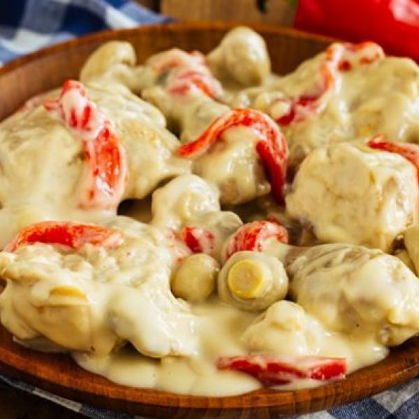 one-pot meals to try creamy chicken ala king