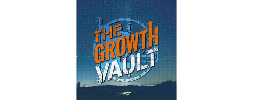 The Growth Vault Podcast logo