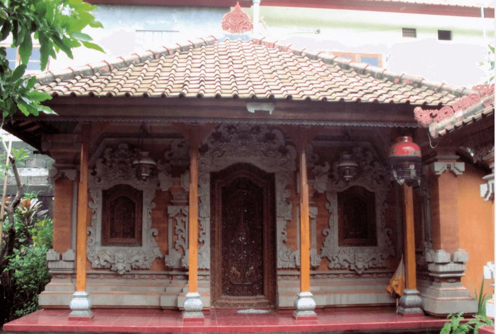 Rumah bata merah bali