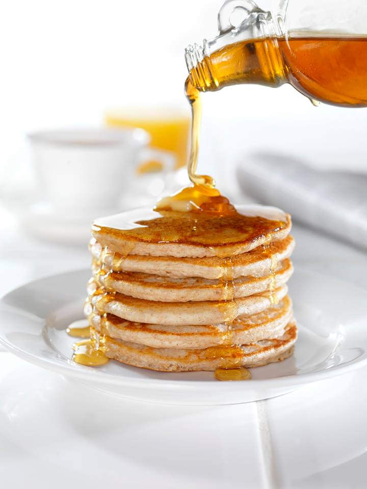 Image result for maple syrup pancakes