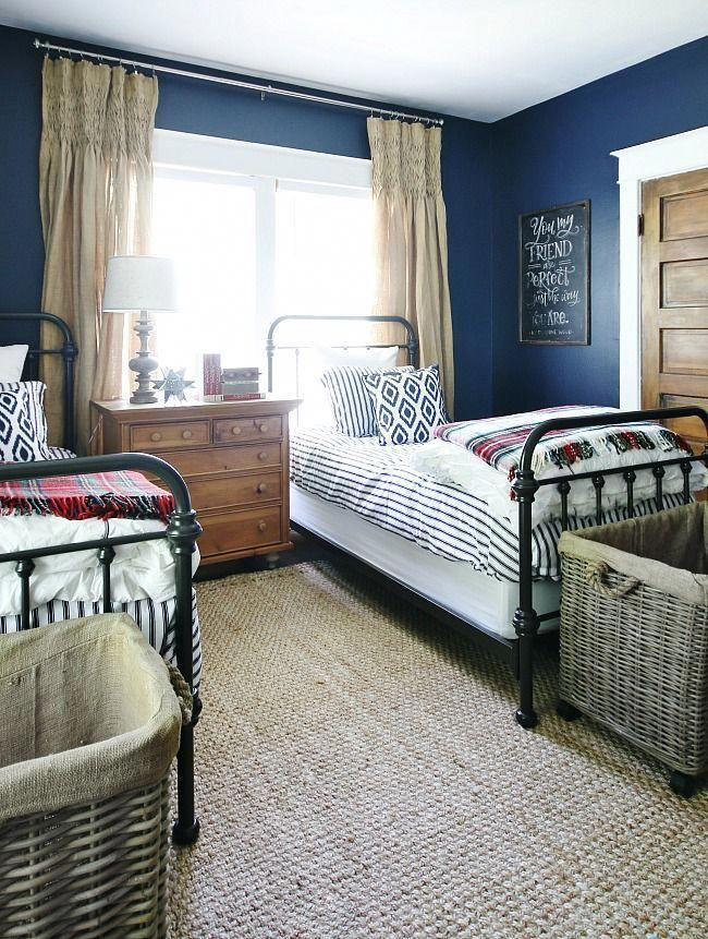 Use the Baskets at the Foot of the Bed