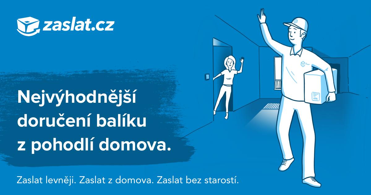 Revoluční internetová přepravní služba | Zaslat.cz