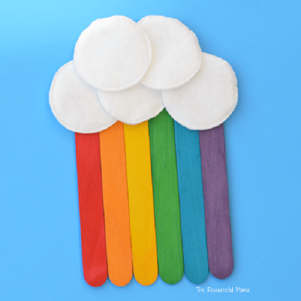 15 Simple Popsicle Stick Crafts For Kids To Make And Play