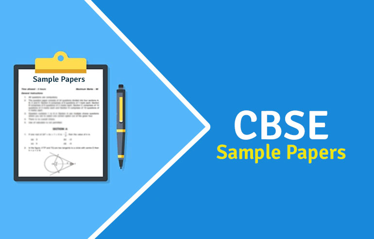 CBSE Class 12 Sample Papers 2020-21