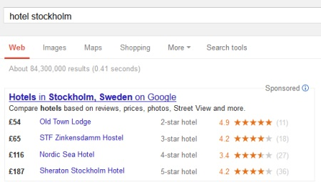 hotellsökning i google.co.uk