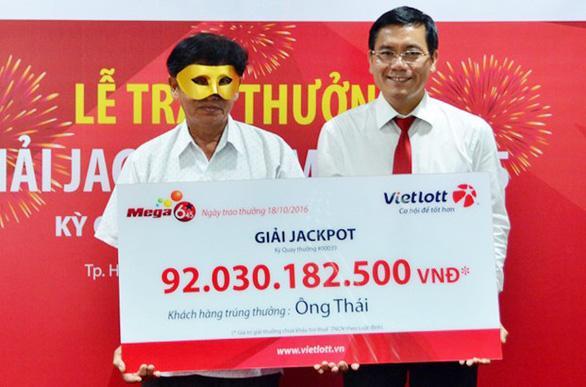 Những giải thưởng lớn có thể lên tới hàng tỷ đồng