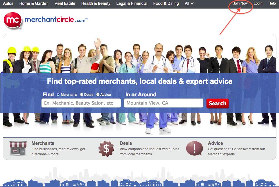 MerchantCircle.com_Join Now